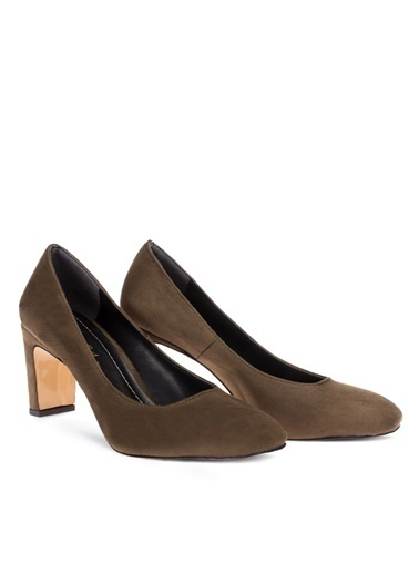 Deery Hakiki Deri Ayakkabı Yeşil